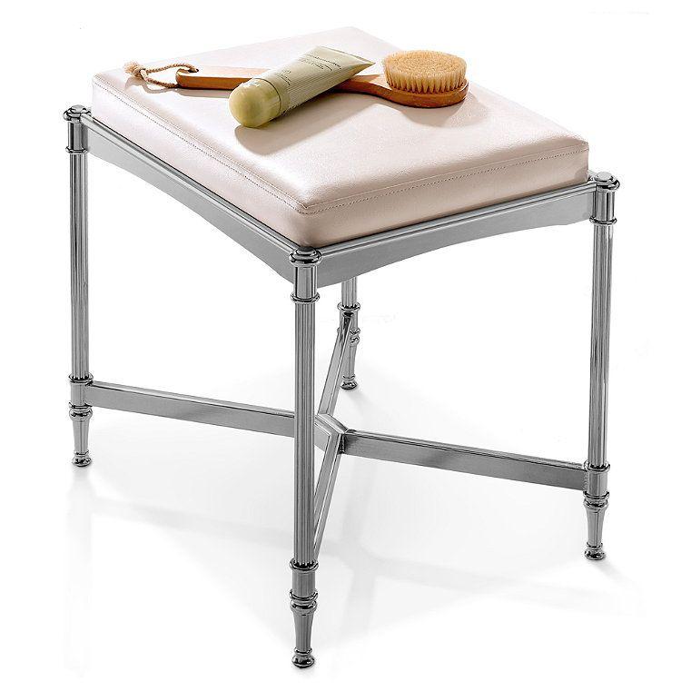 Belmont stool vanity stool furniture shabby chic table