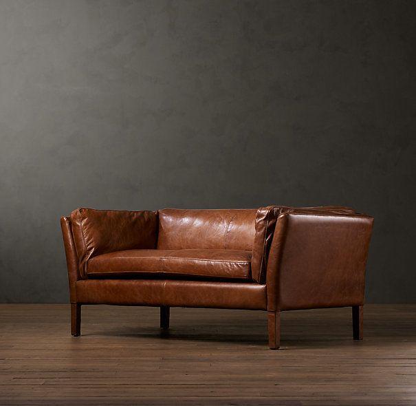 Sorensen Leather Sofas 2310 For 72 Quot At Restoration