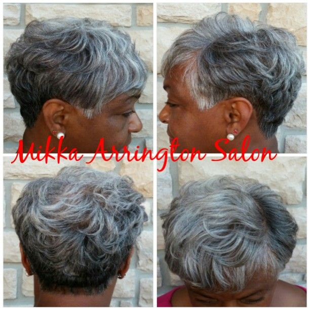 Short and flirty cut by Mikka Arrington