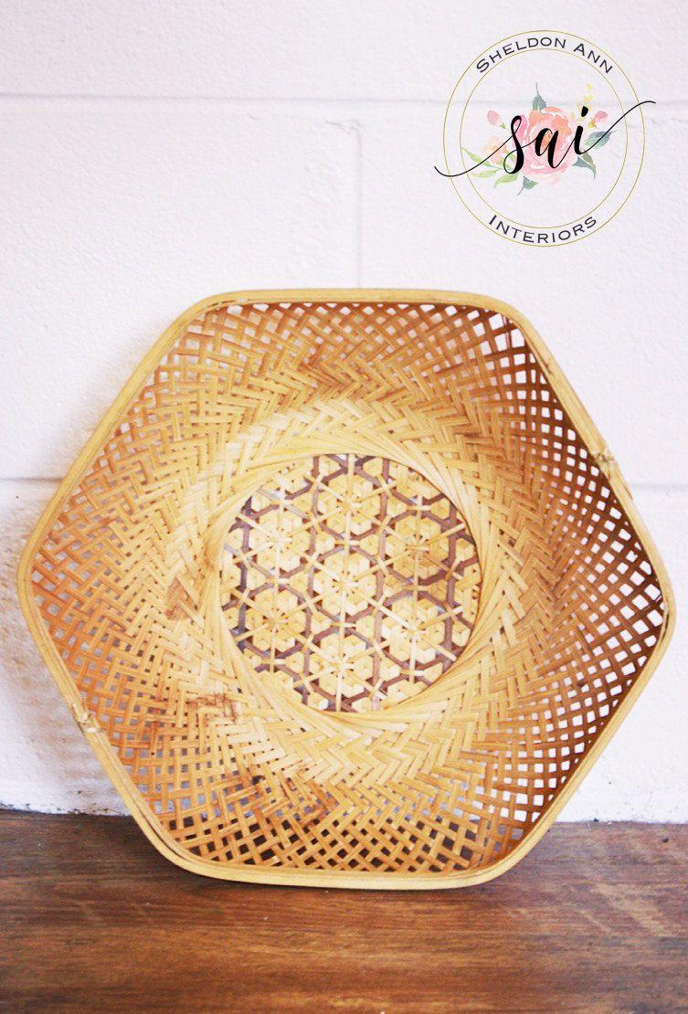 New to sheldonanninteriors on etsy vintage large hexagon