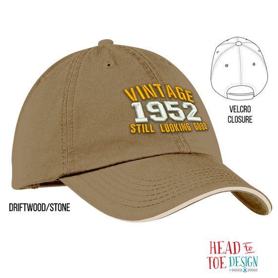 65th Birthday 1952 Gift Unisex Embroidered Cap Idea 65 Bir
