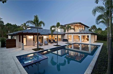 Beach Block Estate - Naples, Florida; Gulf Coast International Properties
