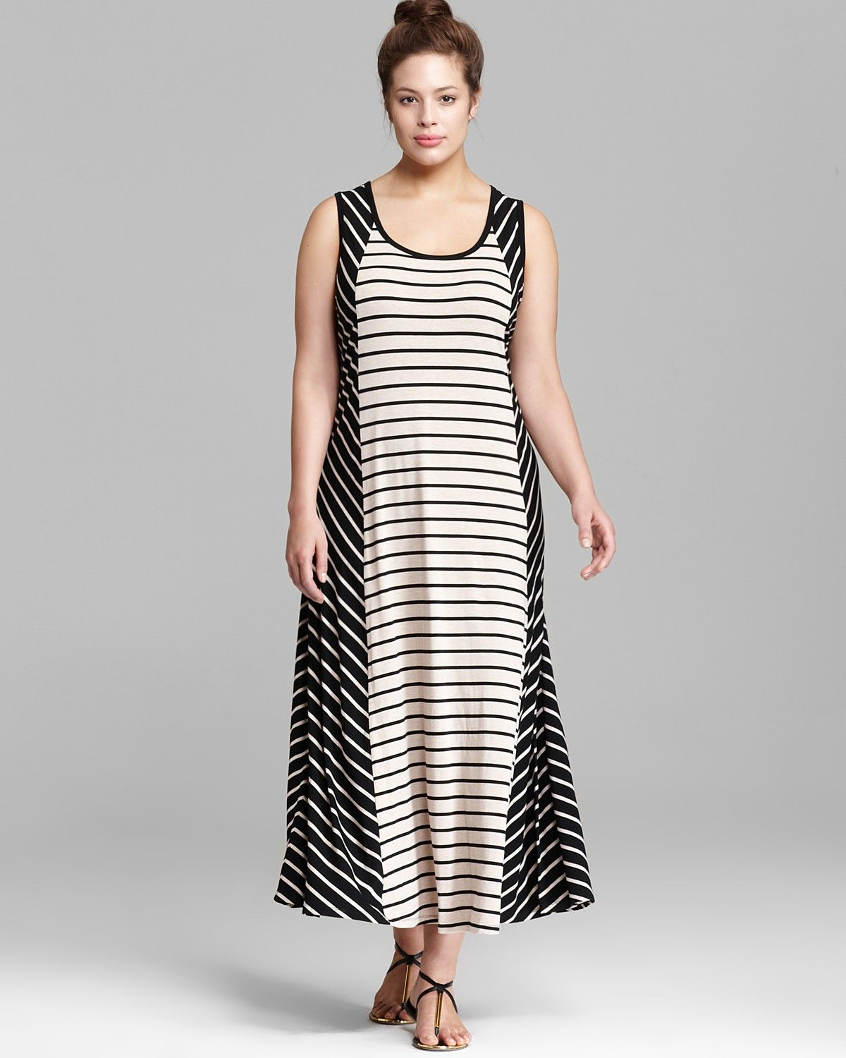 c7149c5cd74 Calvin Klein Plus Bias Cut Maxi Dress