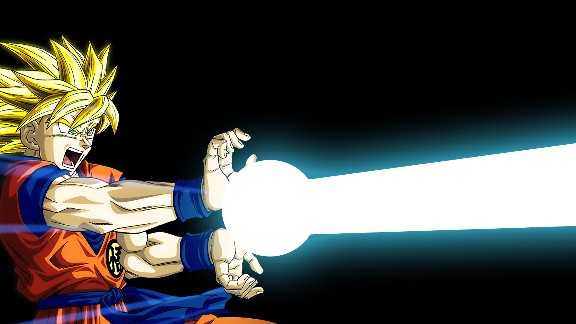 Goku Ultra Instinct Kamehameha Wallpaper Hd