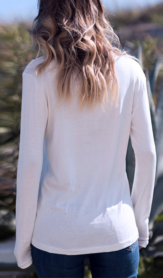 a8ddad65e8 Minimal V Neck T Shirt in 2019 | Fall & Winter Outfit Ideas | Blouse ...