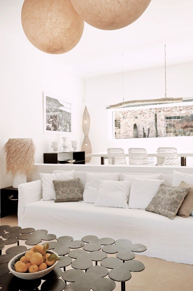 Une Finca Boheme Chic A Ibiza Decoration Du Salon
