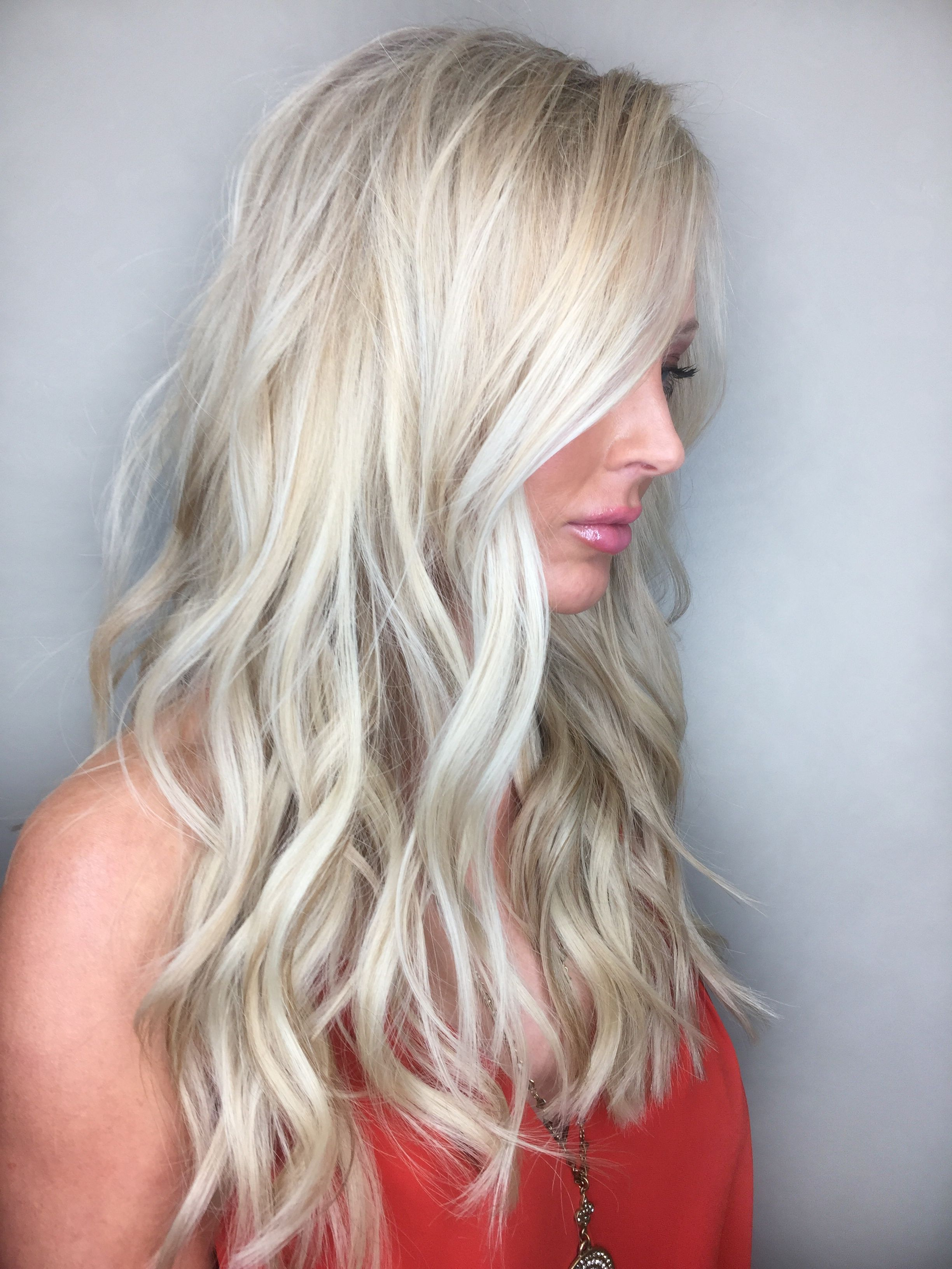 Ice & Butter Blonde 2 Rows of Natural Beaded Rows hair extensions