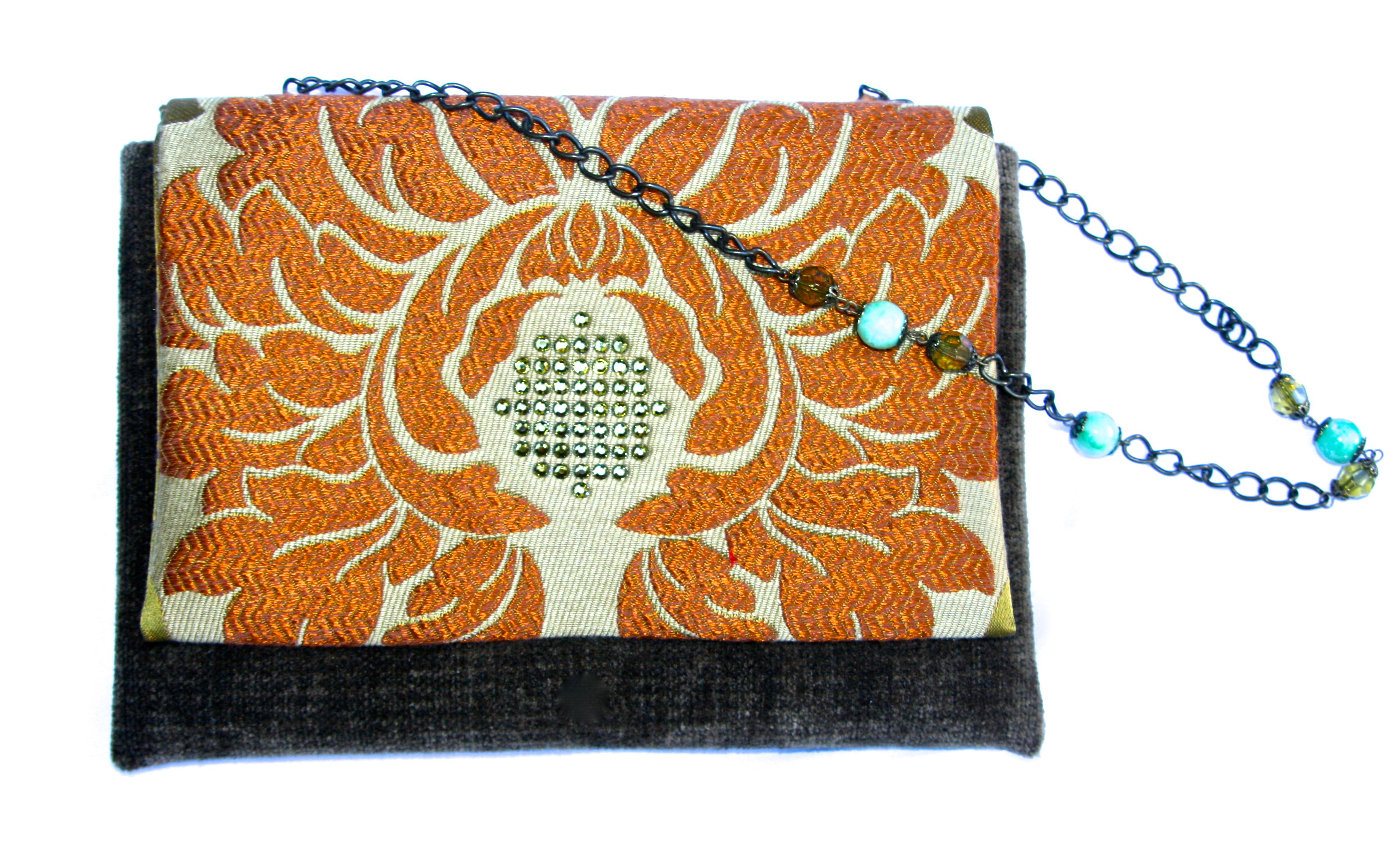 """Zansus small bags - fit in everything and conveniently rest on your wrist while you dance the night away! These make great gifts!  Approx size: 8"""" x 5""""    Price: $50  SALE: No Tax + Free S/H     Email/Paypal: support@zansuspurses.com    We ship USPS Priority within 48 hours of receiving payment."""