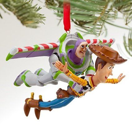 Disney Toy Story Buzz And Woody Ornament Disney Christmas Ornaments Disney Toys Disney Christmas