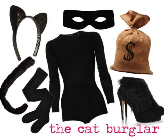 Halloween DIY Cat Burglar Costume Costume ideas, Cat women and - halloween costume ideas easy