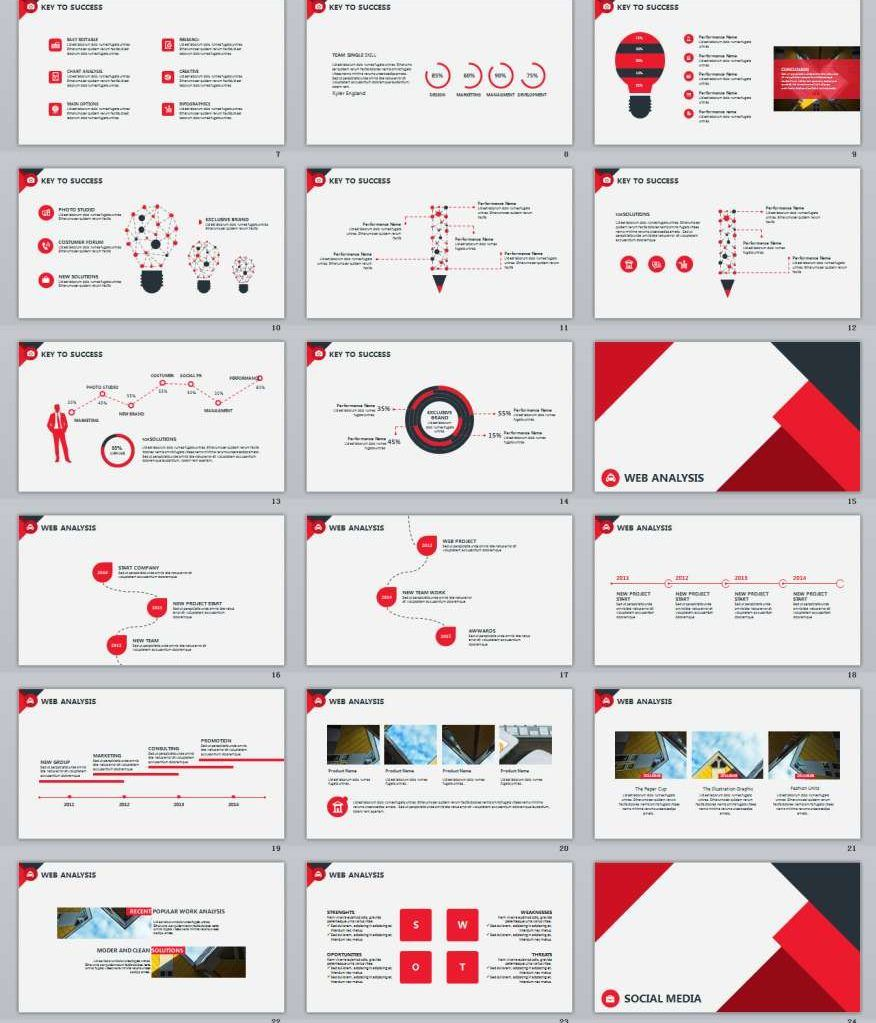 30 red infographics powerpoint templates the highest quality 30 red infographics powerpoint templates the highest quality powerpoint templates and keynote templates download alramifo Gallery
