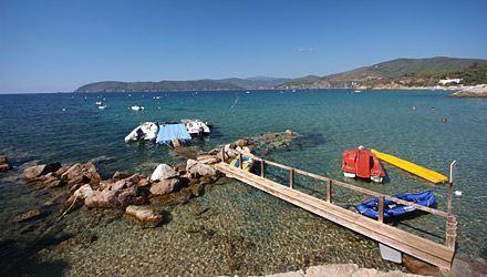 Campsite Island of Elbaamping del Mare in Marina di Campo