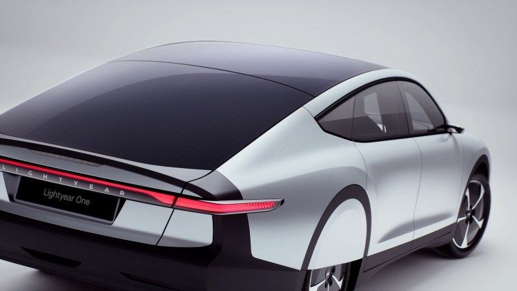 Lightyear One Is A Solar Powered Electric Car With A 725km Range Solar Car Solar Powered Cars Solar Electric