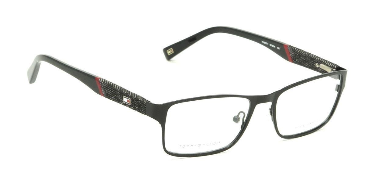 Buy Now Tommy Hilfiger Frame Full Rim Medium 53mm Rectangular (TH ...