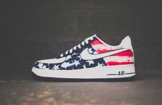 "Nike Air Force 1 Low ""Independence Day"" (Available Now"