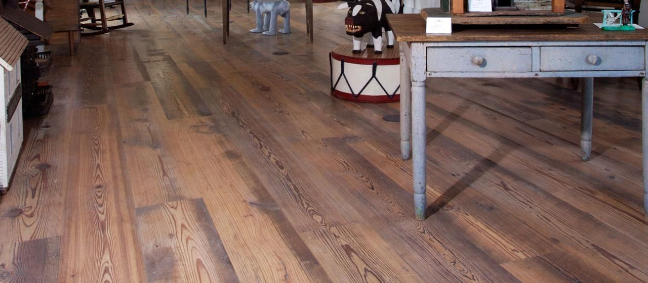 Antique Rustic Heart Pine Floors From 7.70 sq/ft