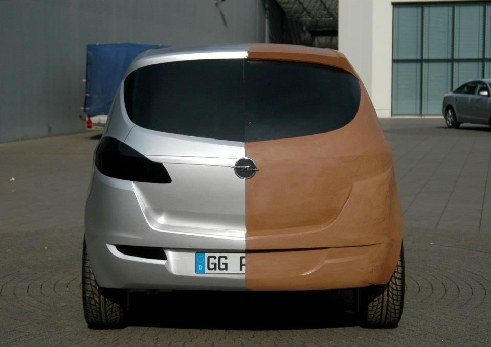 OG | 2010 Opel Meriva B | Full-scale clay model - rejected proposal