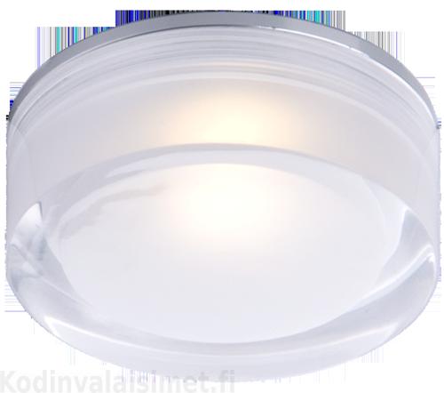 Aneta VETRO kostean tilan upotettava LED kattovalaisin IP44, pyöreä 90 mm - Kattovalaisimet - Sisävalaisimet | Kodinvalaisimet.fi