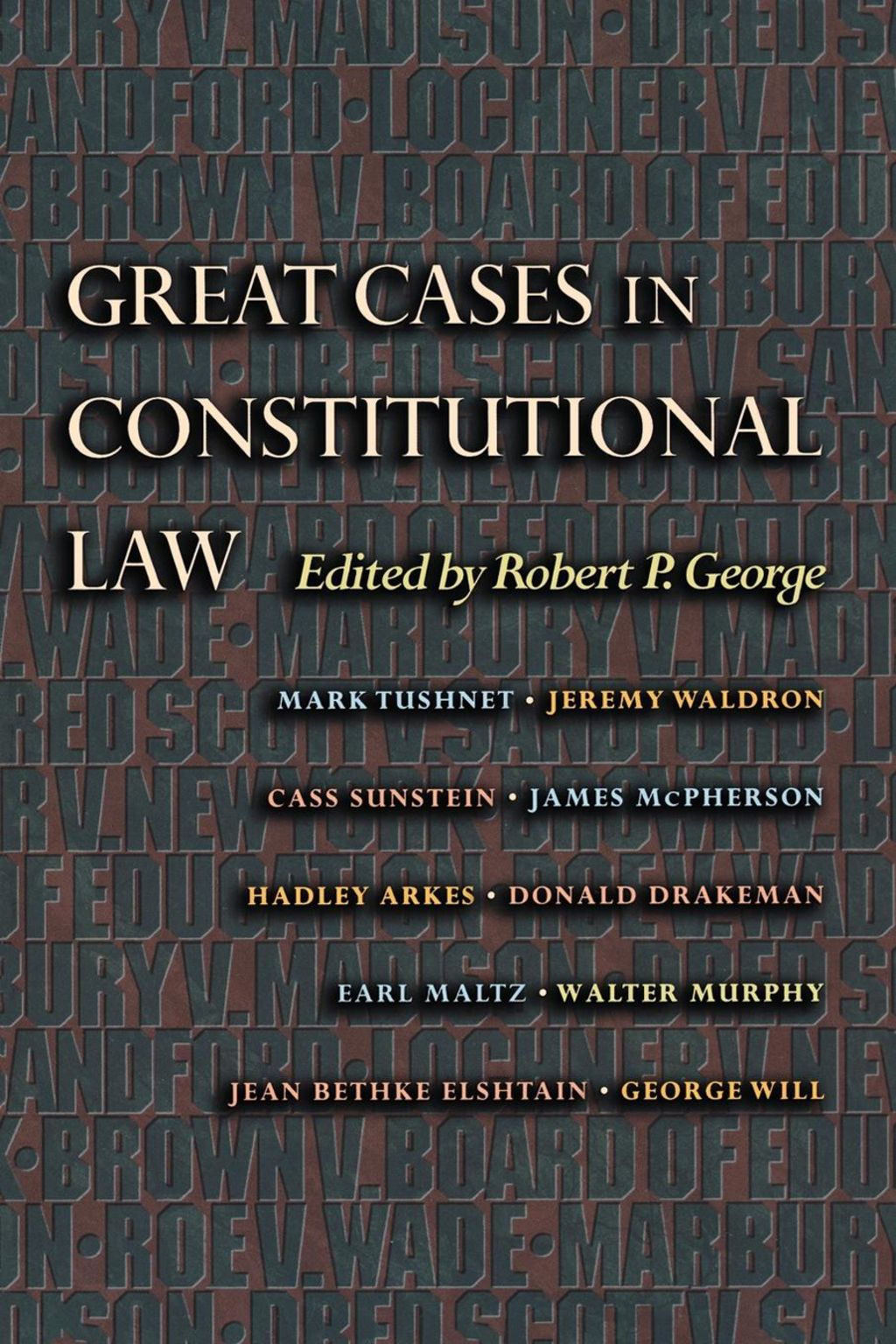 Great Cases In Constitutional Law Ebook