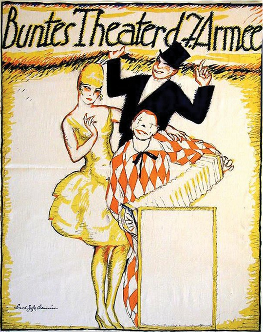 By Bert Joho, 1914-18, Buntes Theater Der 7. Armee (The 7th Army, Colorful Theatre). (G)