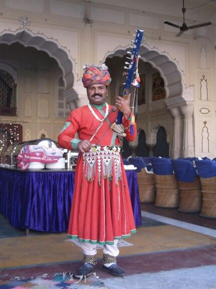 Traditional Rajasthani folk music, Jaipur.