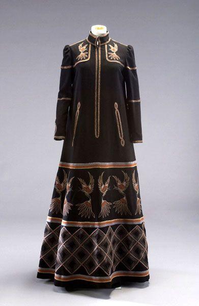 A 1974 Evening Dress From British Fashion Designer John Bates Fashion Museum Fashion Fashion Spot