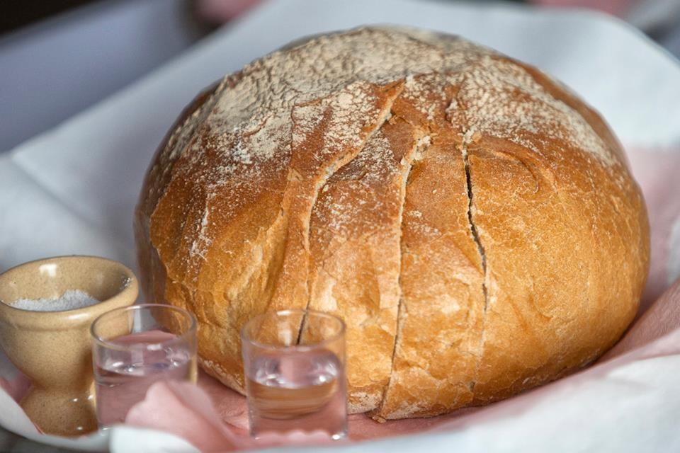 Brot und salz zur hochzeit