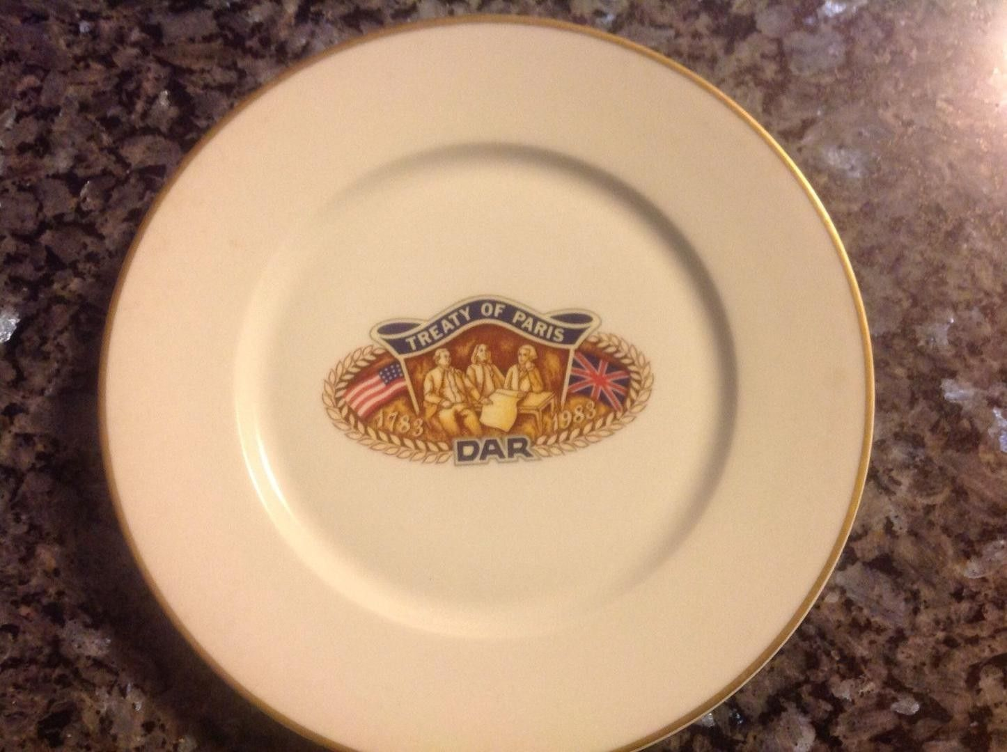 Haviland Limoges Daughters of the American Revolution