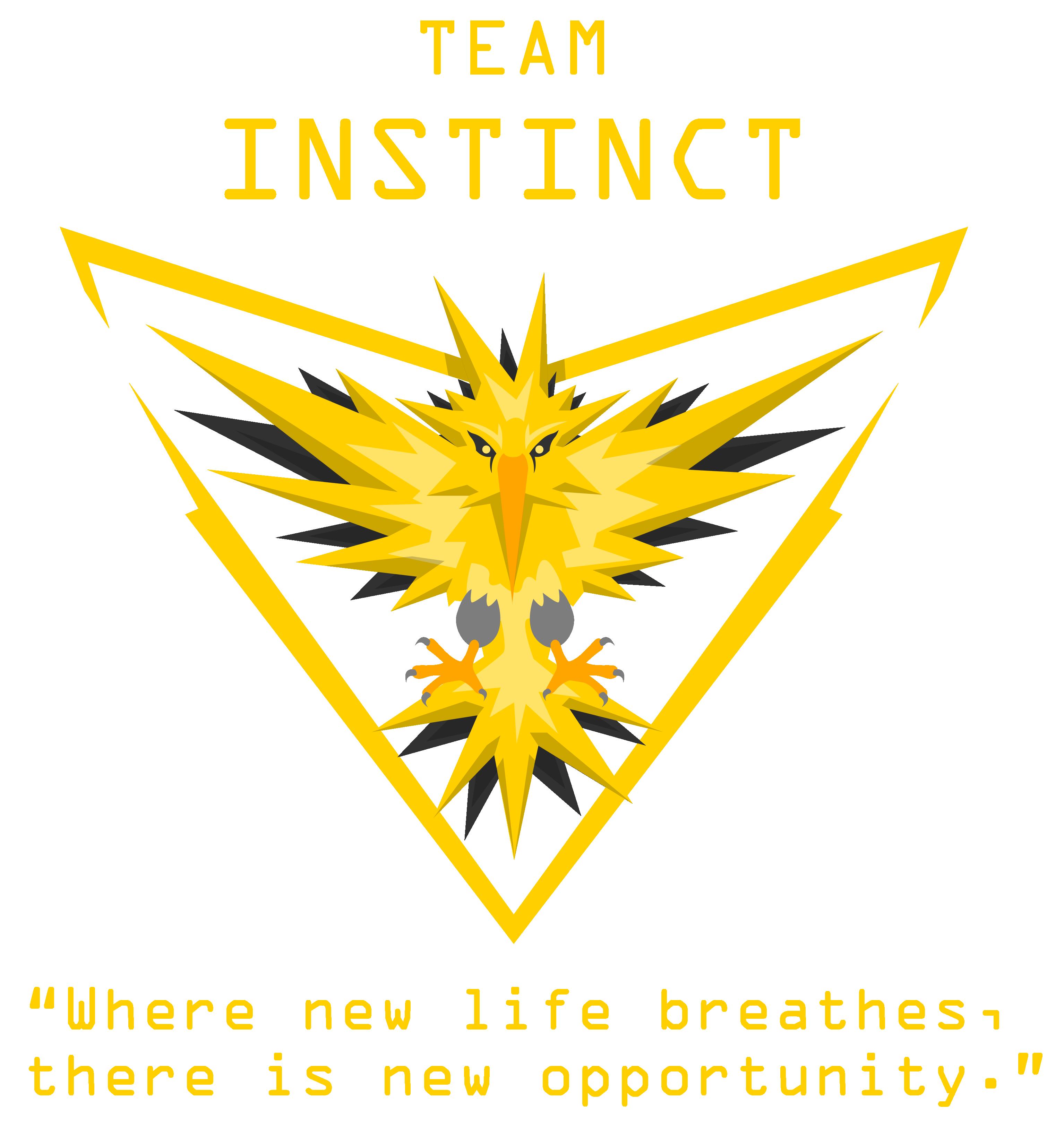 Pokemon Go Team Logos Reupload Due To Own Stupidity Imgur Pokemon Go Team Instinct Team Instinct Pokemon Pokemon