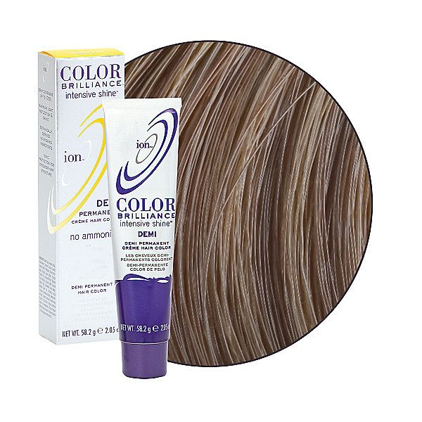Intensive Shine 5n Light Natural Brown Demi Permanent Creme Hair