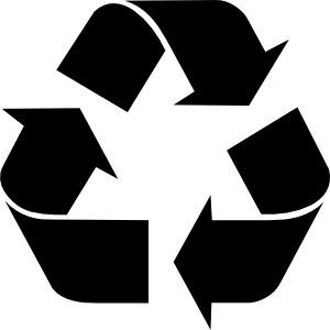 100 Recycled Paper Recycle Symbol Recycle Logo Wall Stickers Cars