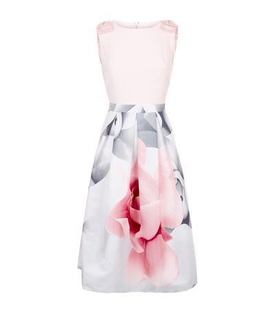 56bfb184b TED BAKER Riina Porcelain Rose Dress.  tedbaker  cloth