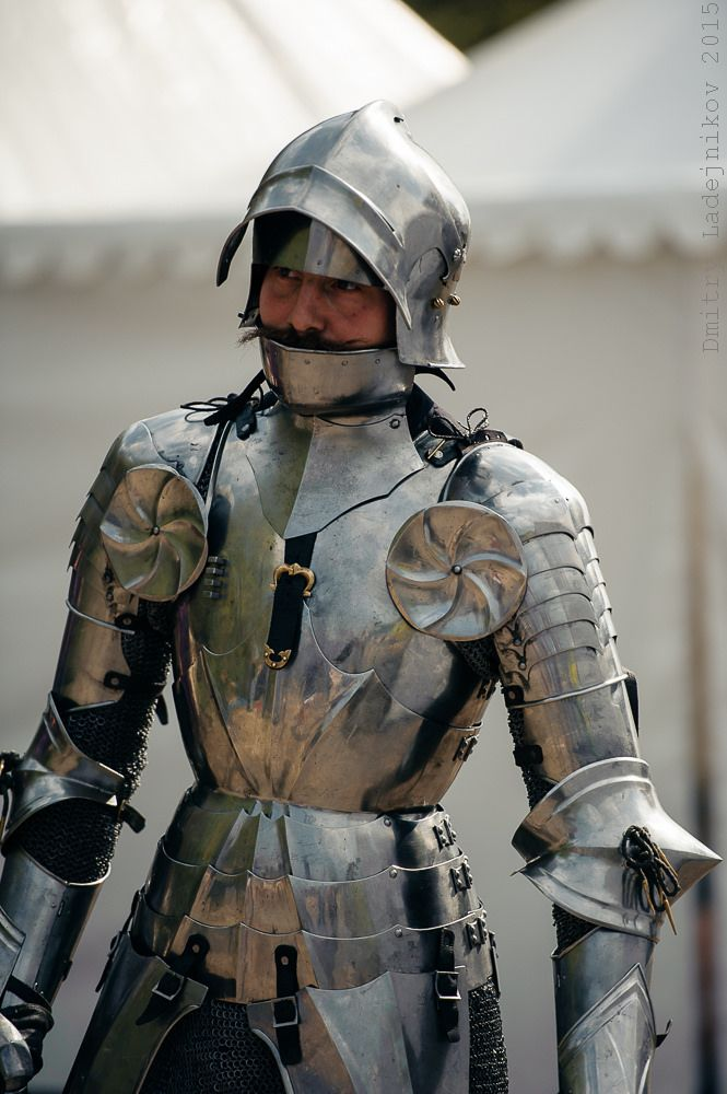 anything from this suit besides the sallet/bevor would be nice to