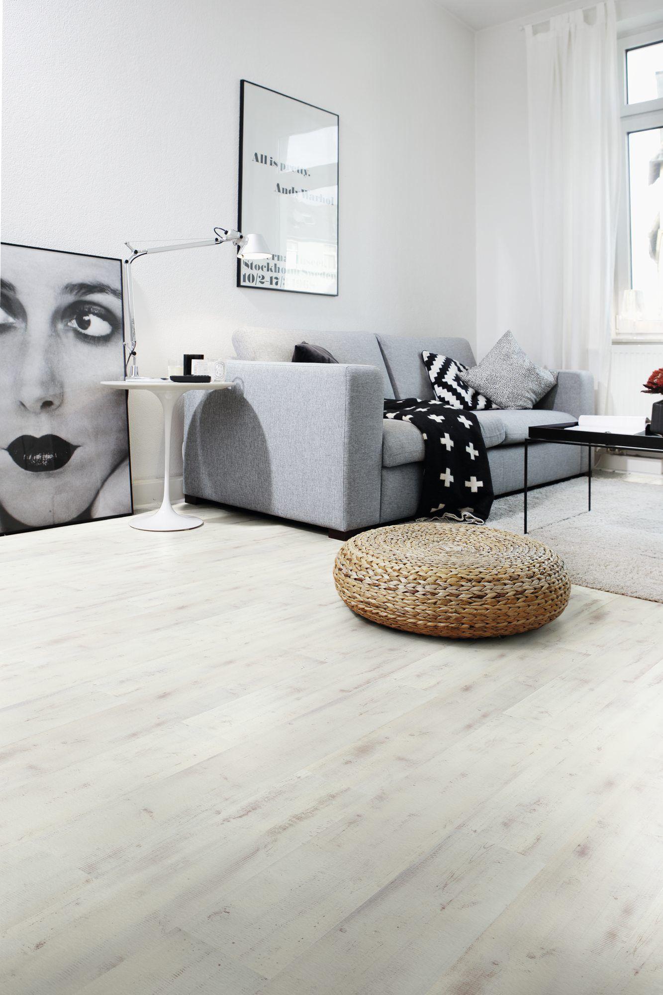 das dekor polaris von wineo macht aus jedem raum ein highlight die helle optik verleiht jeder. Black Bedroom Furniture Sets. Home Design Ideas