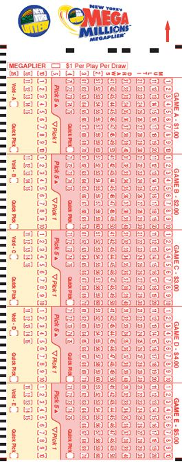 New York Lottery - MegaMillions - How to Play