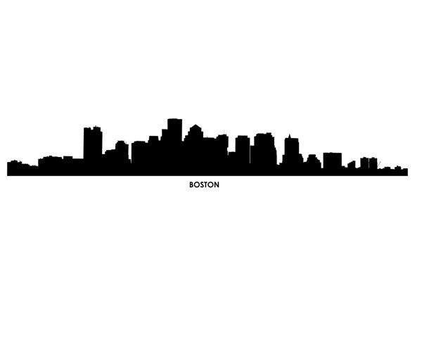 Boston Wall Decal   BackGrounds & Posters   Pinterest ...
