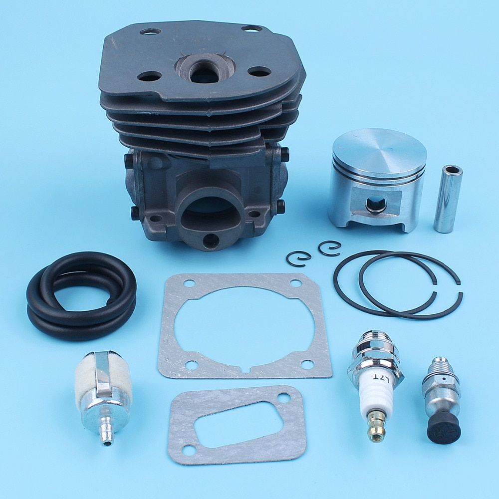 45mm Nikasil Cylinder Piston Kit For Jonsered Cs2150 Cs2152 Cs2147