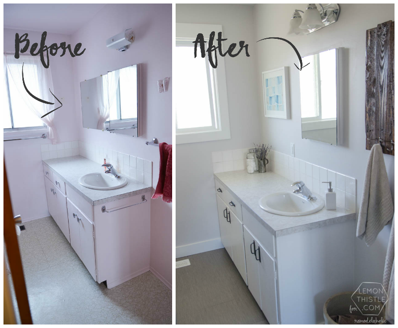 19 Diy Bathroom Projects Better Homes Cheap Bathroom Remodel