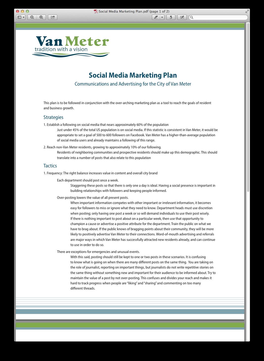 Case Study: Social media marketing plan pdf   Social media. Marketing proposal. Marketing plan