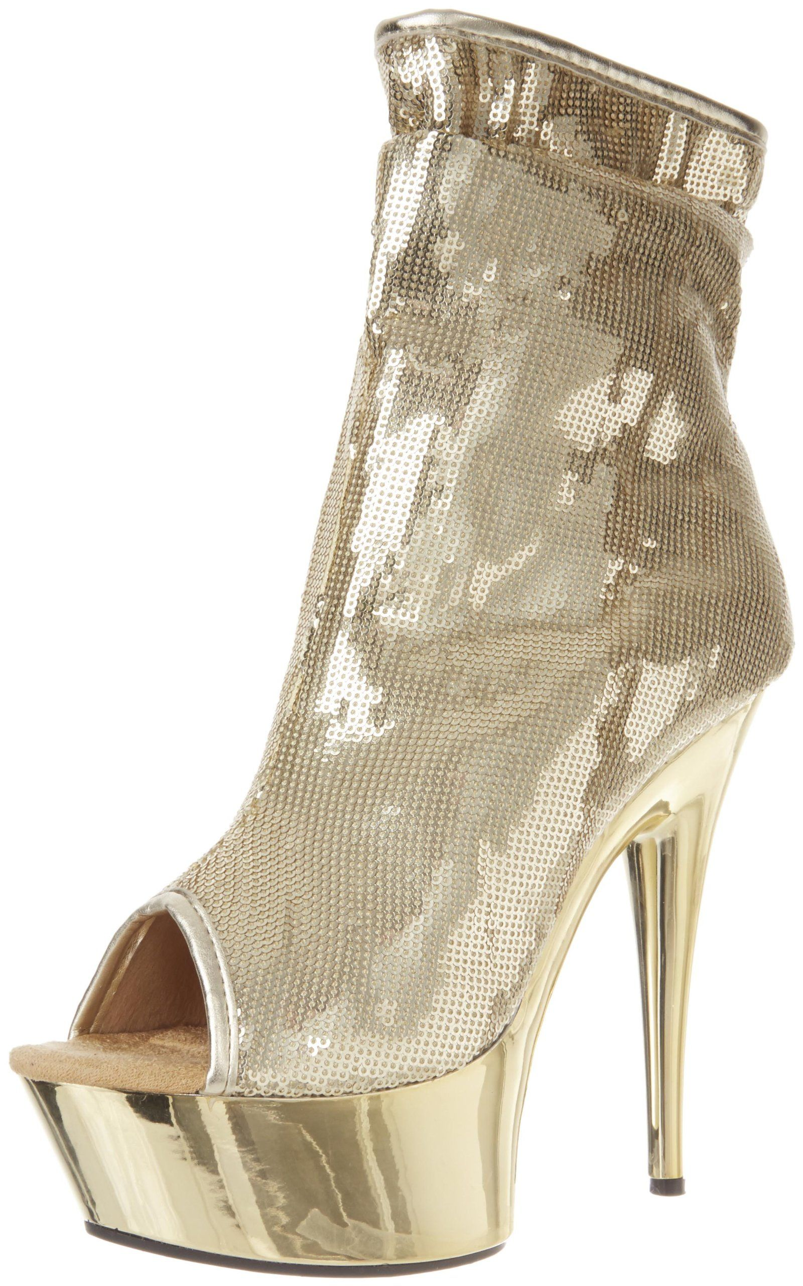 d5bf22c5ff90 The Highest Heel Womens Amber411 BootieGold Sequin8 M US   Read more at the  image link. (This is an affiliate link)