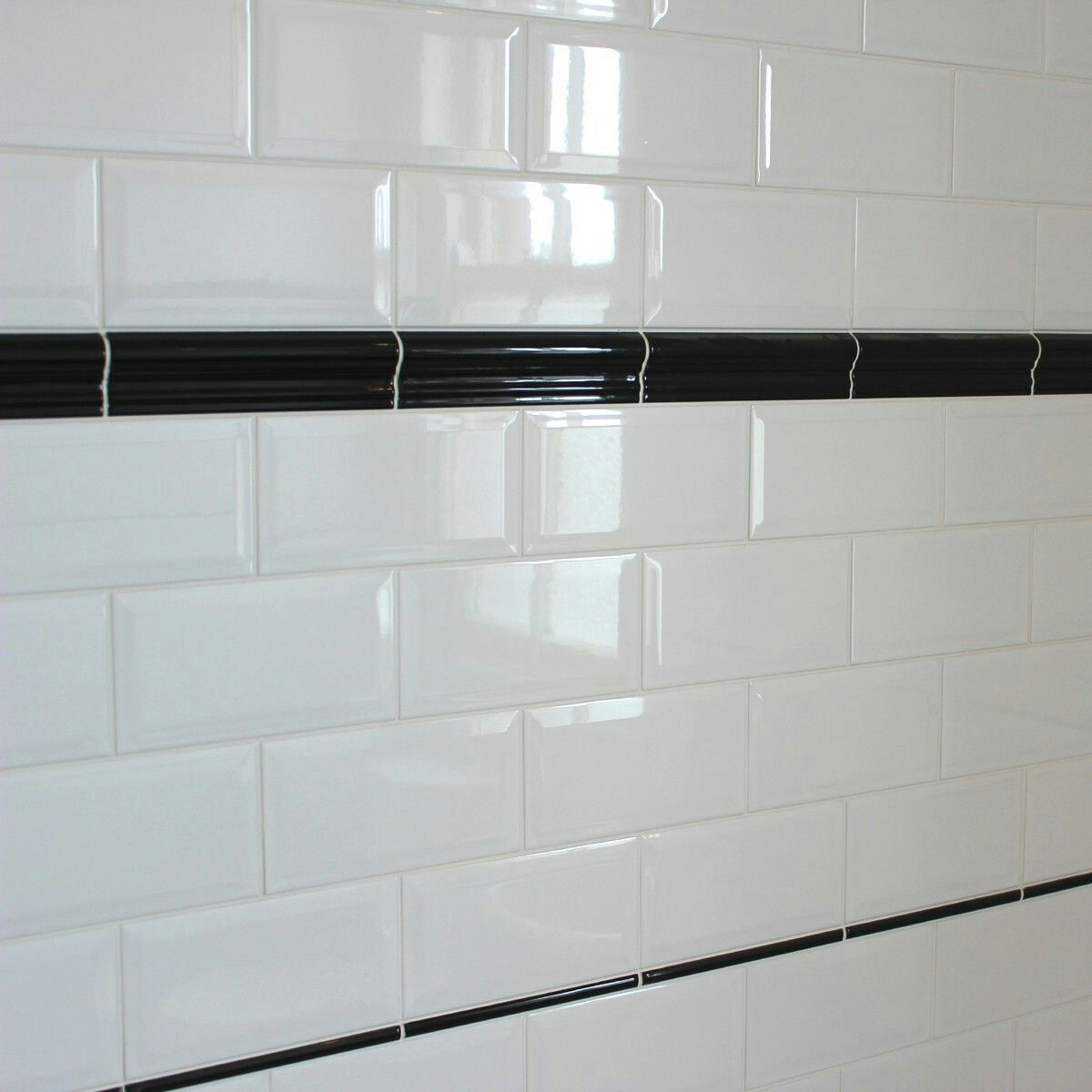 Border Tile Negro Dado Tile Choice Co Uk Bathroom