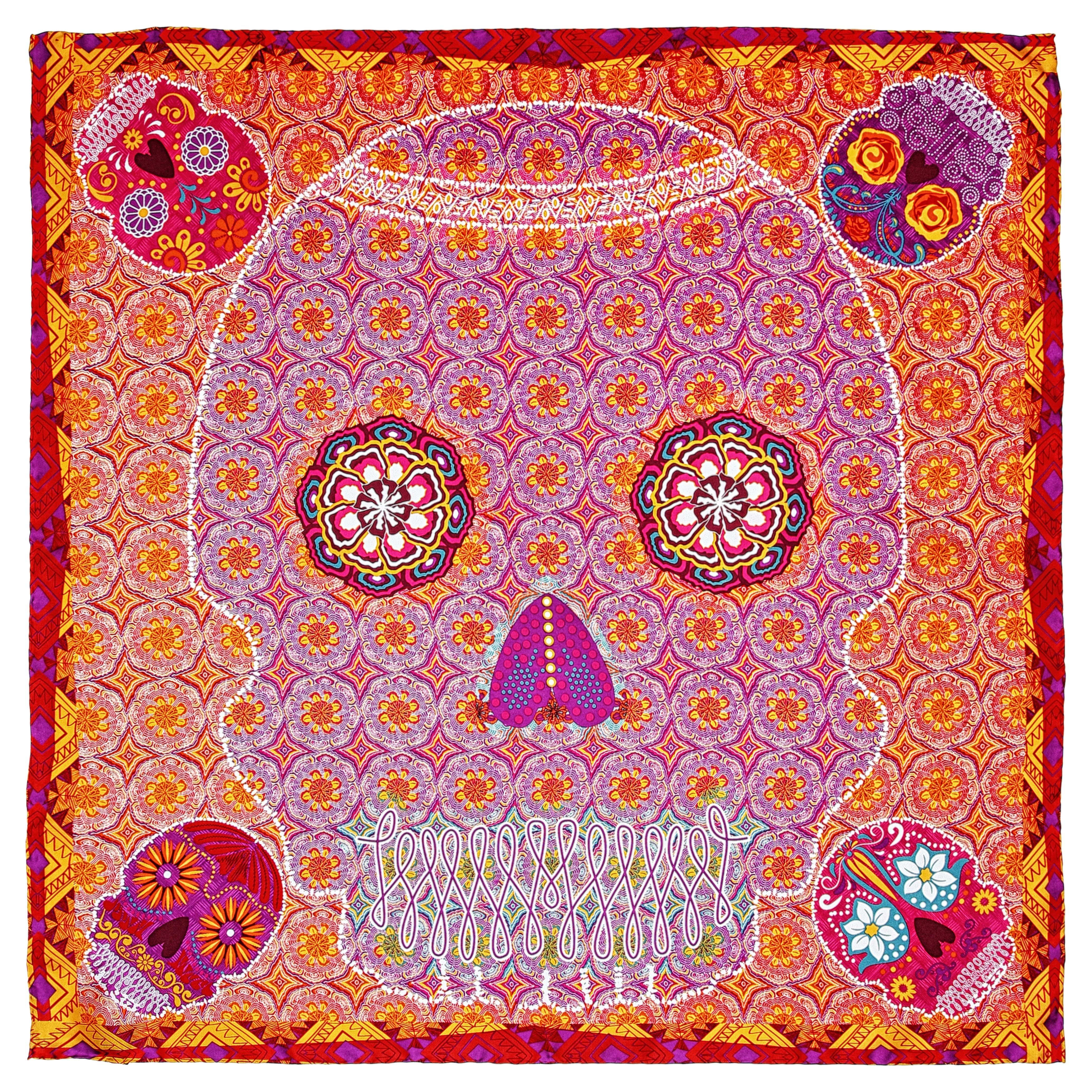 Skulls SCARF - by Pineda Covalin | Fashion Accessories ...