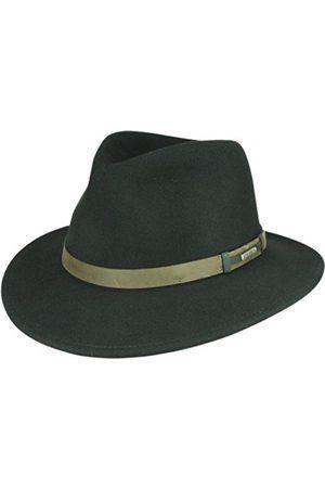 5c9fa755fcfe4 Hombre Sombreros - Stetson Sombrero de vestir - para hombre XS ...