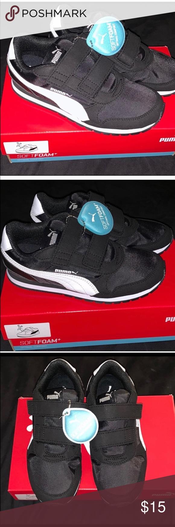 Puma Soft Foam Velcro kids 2c 2 Shoes