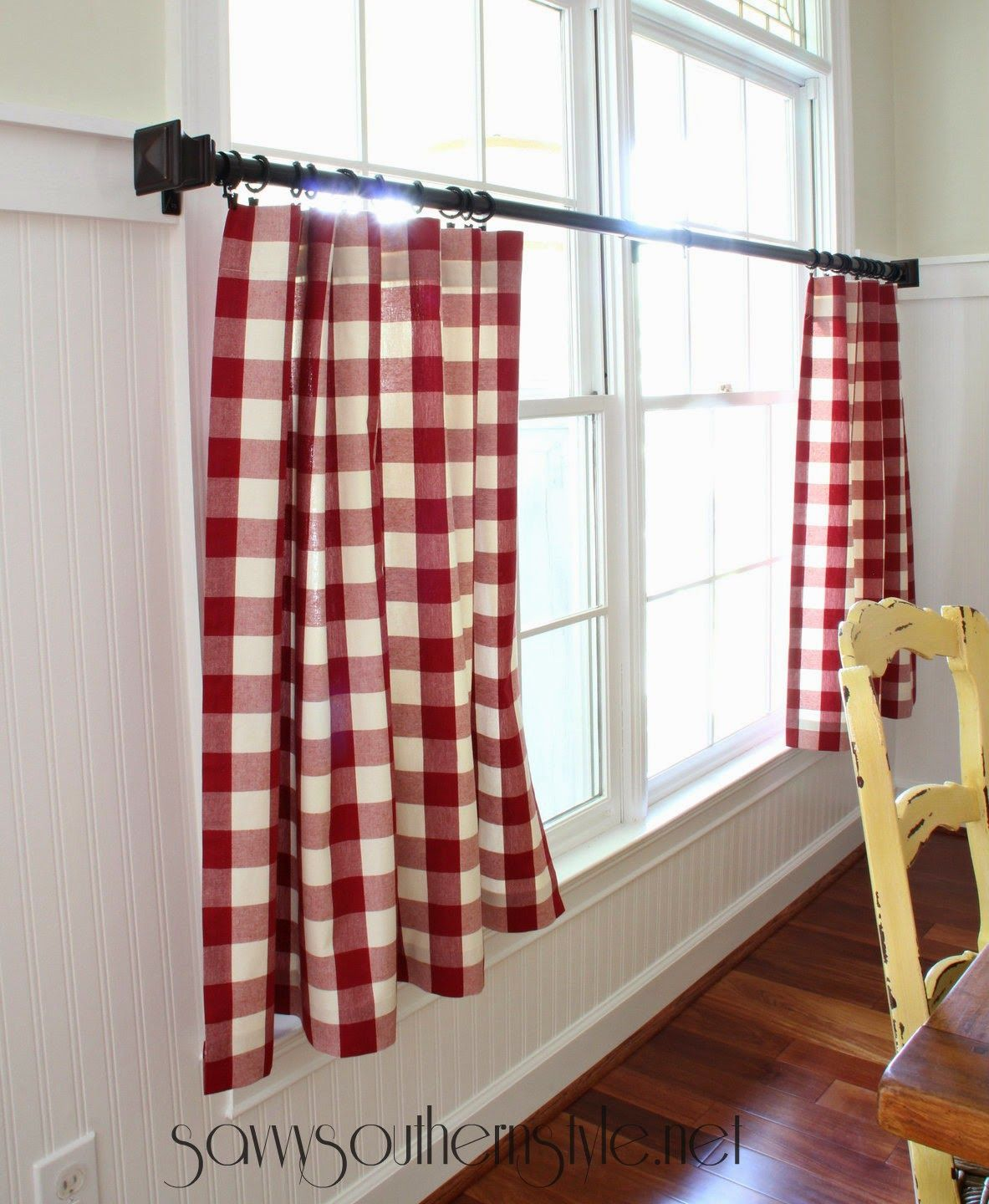 The Mister Made Easy No Sew Curtains