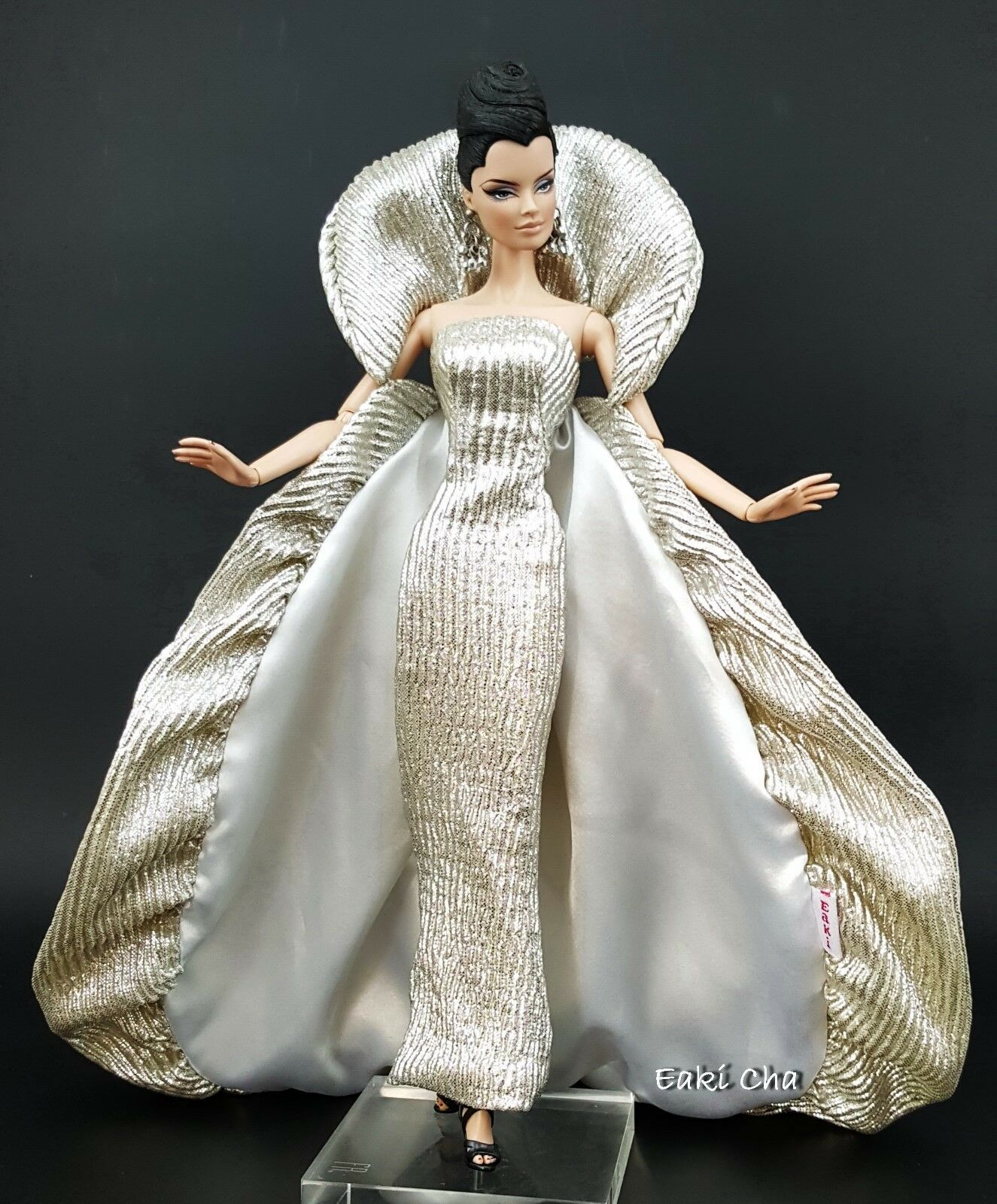 Goddess Galaxy Evening Dress Outfit Gown For Silkstone Barbie Fashion Royalty FR
