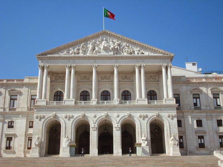 Palácio de São Bento - Lisboa Neoclassicismo.