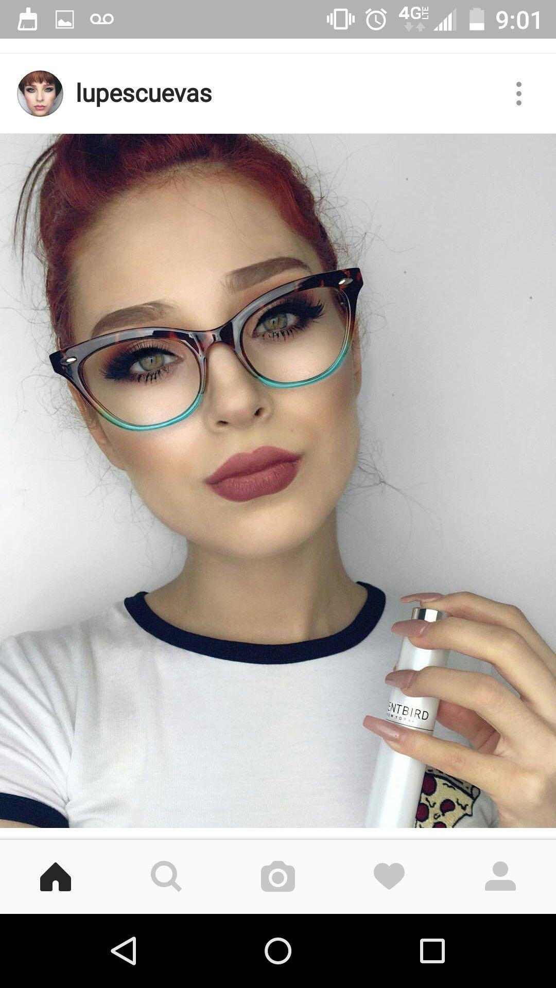 Pin von Marangelie Garcia auf Makeup | Pinterest | Brille