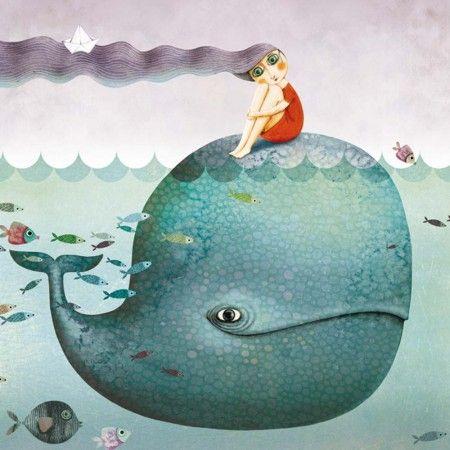 carte-postale-baleine-marie-desbons.jpg (450×450)