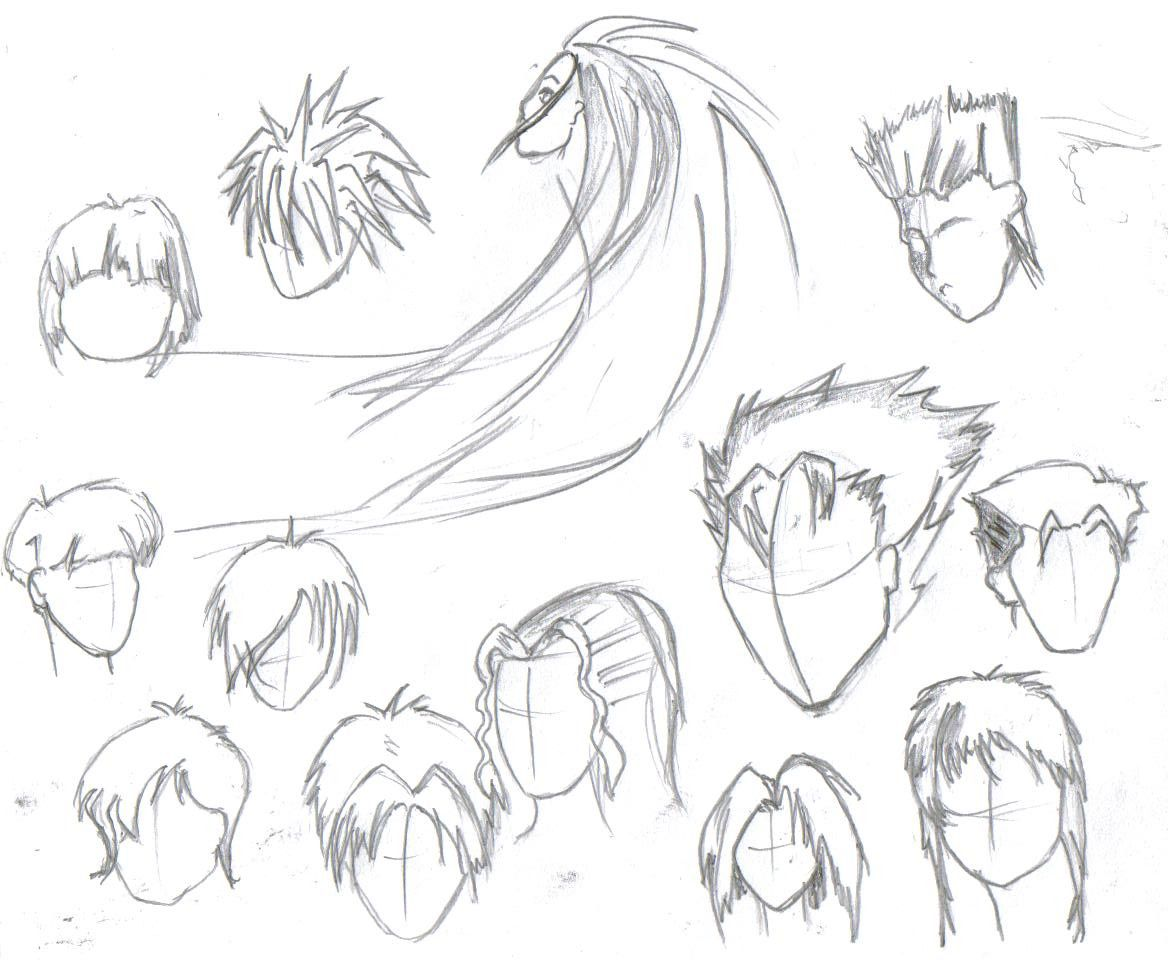 Anime Hairstyles For Guys Art the top 20 ideas about
